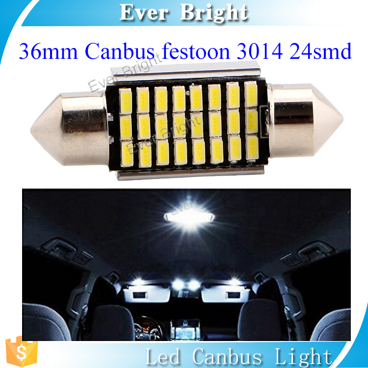 Onsale 6500K c5w canbus car interior led lights 34smd 36mm festoon lights led dome