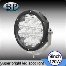 "Car accessories 9Inch 120W Round LED Work Light 9"" 120w 185w led driving spot light used car"