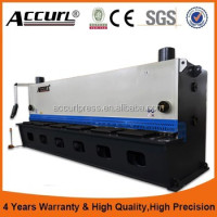 Alibaba Best Manufacturers,High Quality 12X6000mm Hydraulic Guillotine Cutting Machine From Anhui Accurl