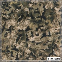 FTM-6603 PVA tree Camouflage Water Transfer Printing Hydro Graphics Film