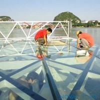 Noval Tempered Laminated Glass Floor Panel