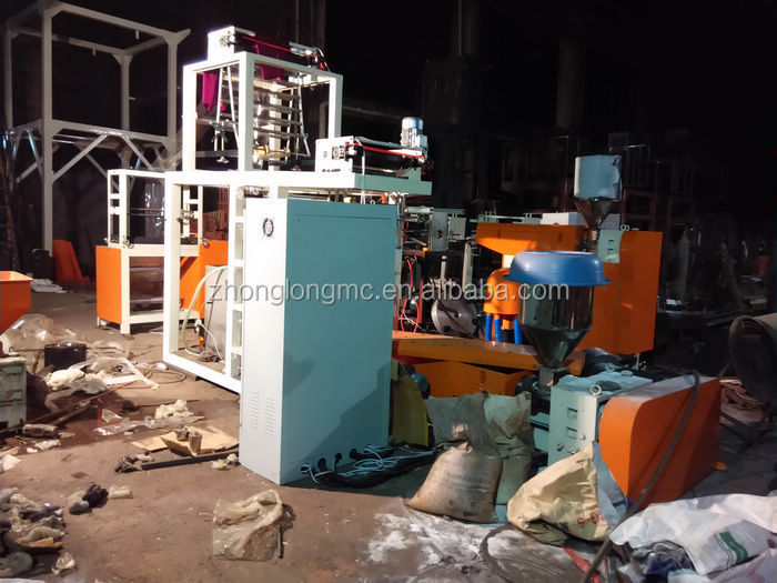 China suppliers wholesale PVC heating shrink film blowing machine
