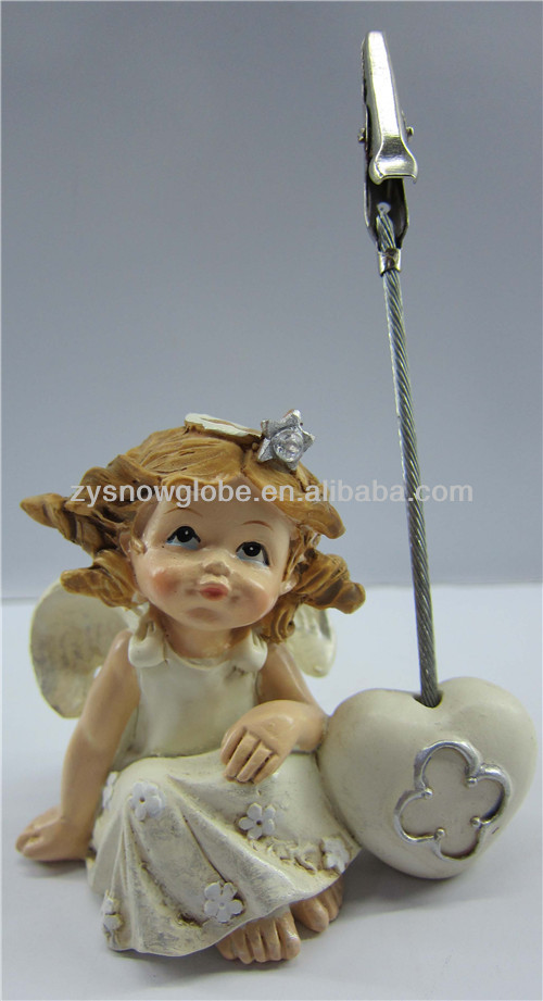Resin nude little girl figurine