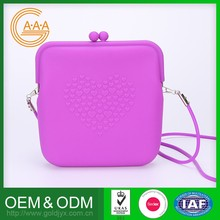 Top Sales Custom Silicone Bag Soft Rubber New Design Lady Bag Hand Bag