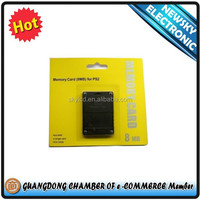 factory wholesale price memory card for ps2 8MB/16MB/32MB/64MB