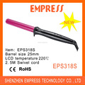 Hot Selling LCD curl iron Hair curling wand 13/19/25MM EPS318S