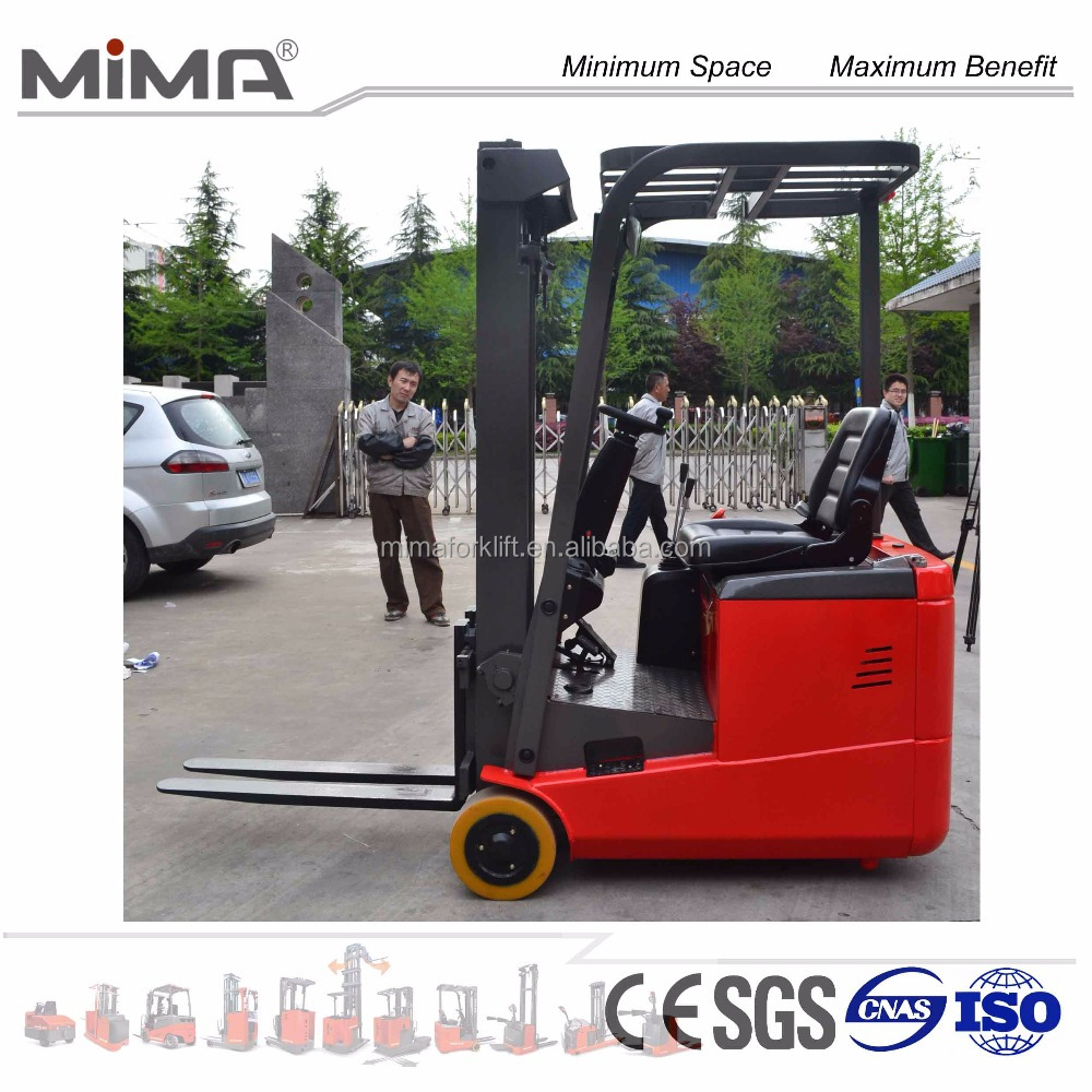 nice price for ac motor 3 Wheel Electric Forklift truck