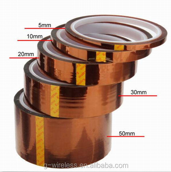 New 2016 durable Polyimide High Temperature Resistant Tape for lcd repair fixed adhesive tape
