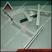 China manufacture promotional aluminum suspended ceiling t 24 grid