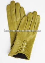 Dress pigskin gloves for lady