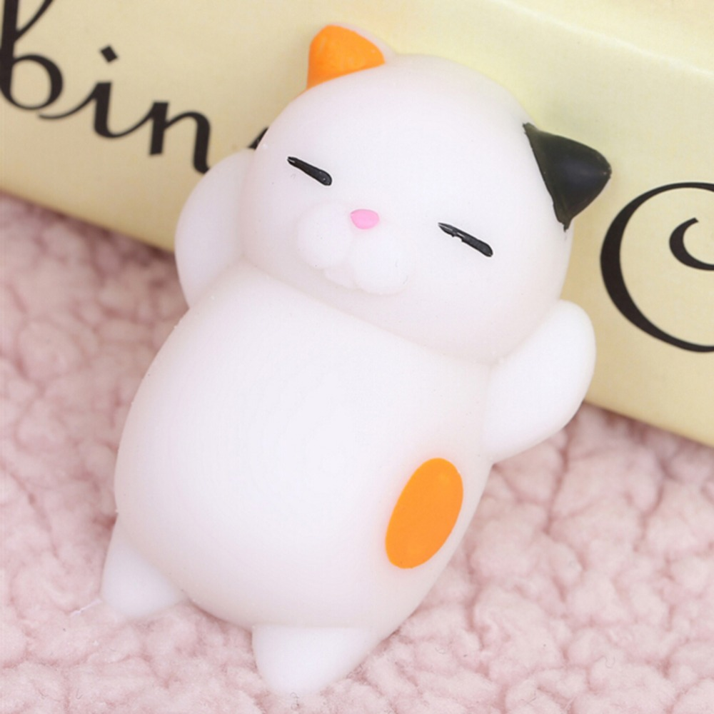 Factory Mini 3d kawaii squeeze toy stress reliever squishy cat