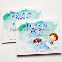 hardcover educational book for children with best printing service