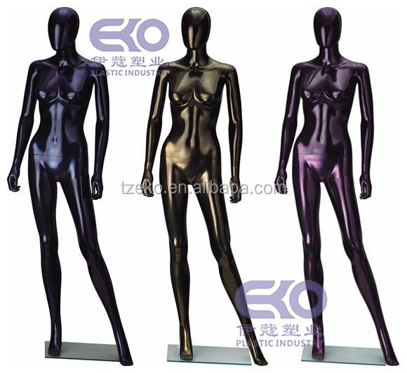 PP Plastic cool drawing female mannequin malaysia