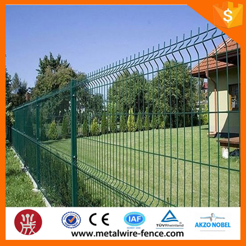 New design wholesale powder coated electric wire mesh fence for apartment