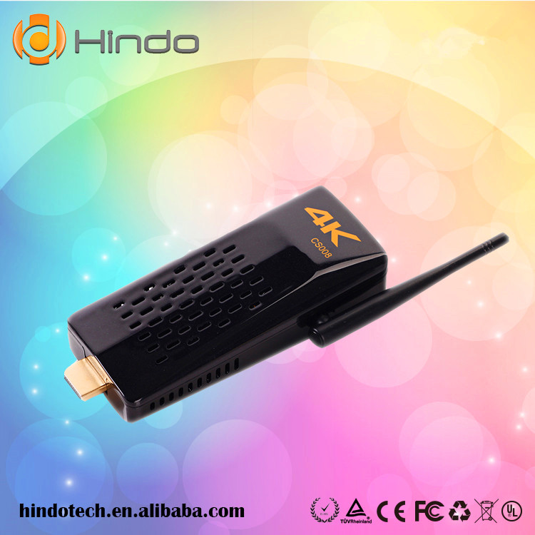 Factory directly sale rk3288 Quad Core CS008 android tv stick with sim card slot