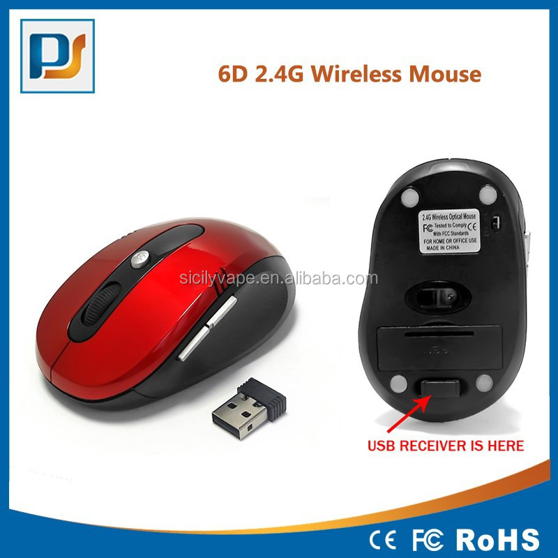 2.4GHz High Qulity Wireless Optical Mouse/Mice + USB 2.0 Receiver for PC Laptop2.4GHz High Qulity Wireless Optical Mouse/Mice +