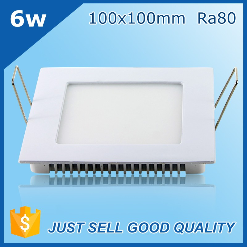 hot sale OEM brand high quality 6w small size 4inch square led panel light
