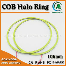 105mm Hight Brightness COB halo rings LED Angel Eyes for Car Lighting for Projector Headlights