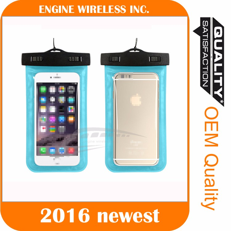 waterproof case deep underwater cover proctetive punch dry bag for iphone 5/5s