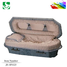 JS-BN123 good quality infant and baby casket factory