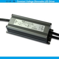 CE RoHS 12 volt led strips driver constant voltage 0-10V PWM dimmable led transformer 50W 12V three years warranty