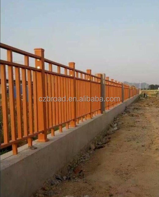 1000*800 2014 Eco-friendly Hot Sale Cheap Outdoor Wood Plastic Composite WPC Fence