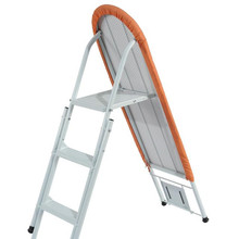 IB-6D folding ironing board with step ladder