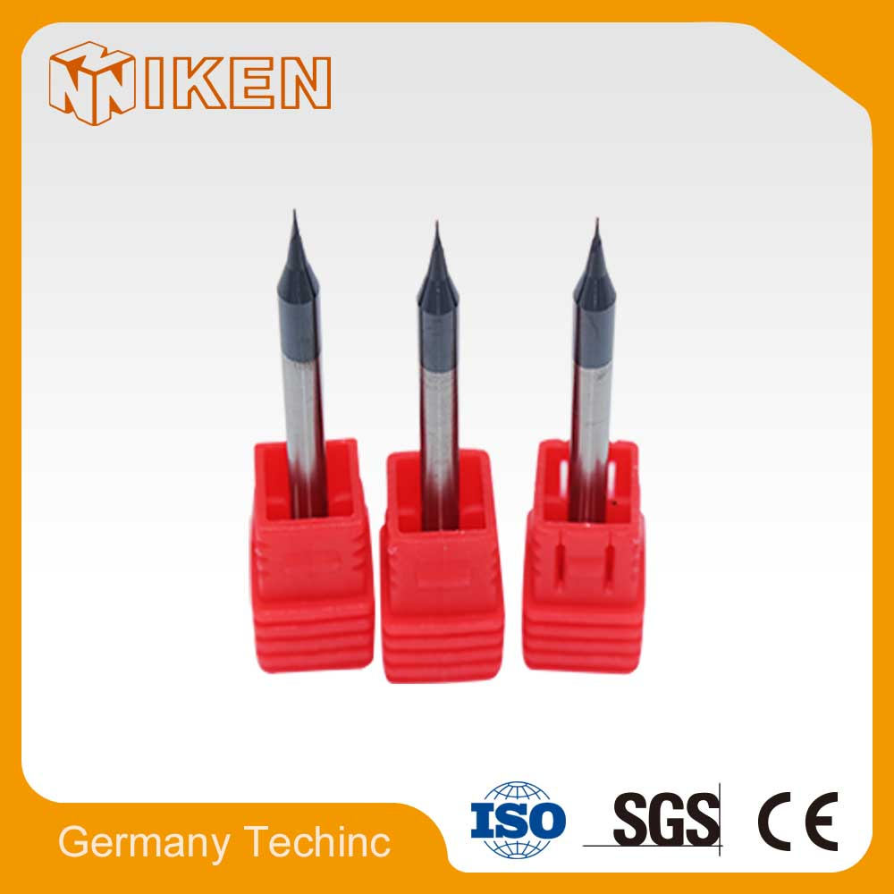 0.5mm micro grain carbide 35 degree milling cutter