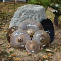 B20 handmade arborea cymbal for drums Professional sound Knight series top grade cymbals