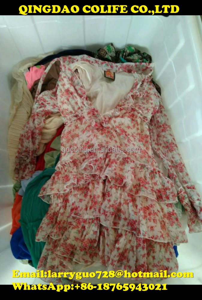 Wholesale cheap stylish used clothes italy