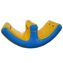 2017 cheap adult inflatable water seesaw for sale