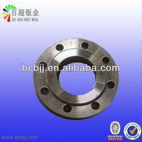 stainless steel sheet cnc punching flange