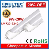 Cheap price high lumen warm white nature white epistar 10w18w 20w 24w t8 led tube