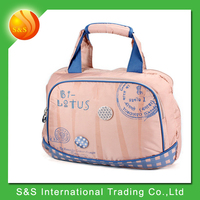 Pink lady tarvel portable tote waterproof laptop bag