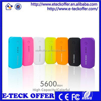 Travel Smart Power Bank Portable Usb Charger 5200Mah for protable mobile phone