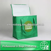 Roomy Non Woven Insulated Food Delivery Bags Extra Large Insulated Cooler Bag