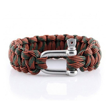 Metal Clasp 550 Paracord Rope Survival Rope Bracelet
