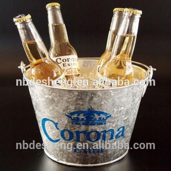 Good quality stocker metal stainless steel ice bucket