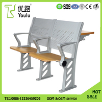 China Supplier University College Classroom Table And Chair
