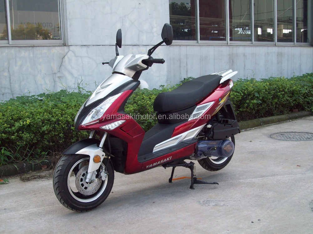 2013 Hot sell 50cc one cylineder 4 stroke gas scooter