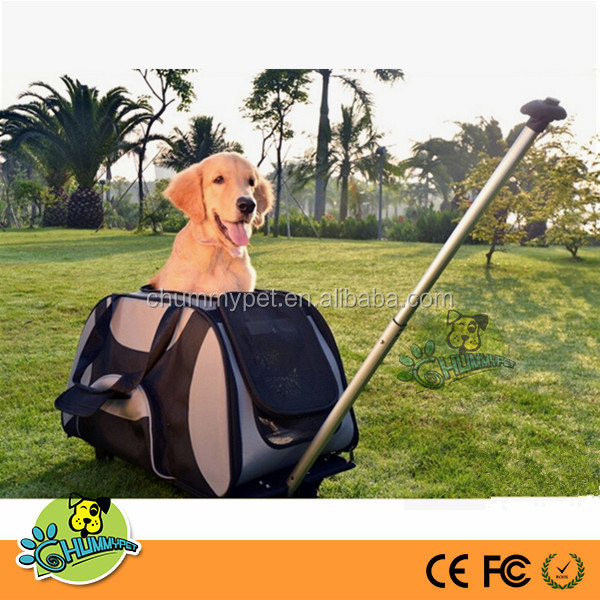 Artech trolleypet carrier / wholesale china pet product supplies