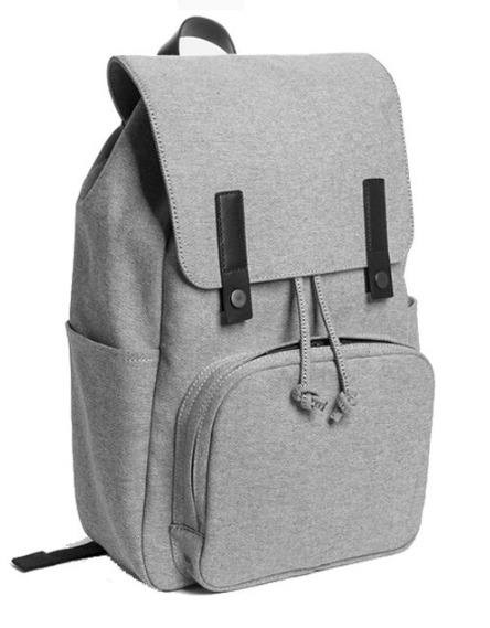 High quality cheap stylish canvas laptop backpack for school bag