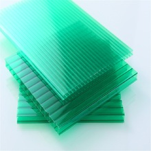 XINHAI fire resistant green polycarbonate hollow sheet residential building