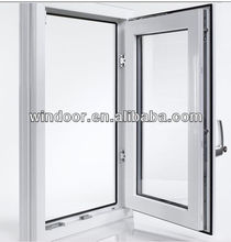 Leading Aluminum Tilt Turn Window With Double Glass