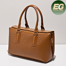 Buyer wholesale direct from china newest women handbag high quality tote bag gird style handbags SY6289
