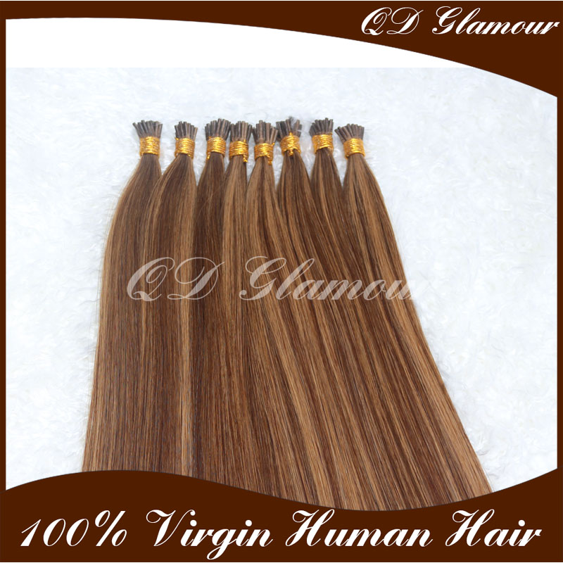 Best Grade Factory Wholesale Price Top Quality I Tip Hair Extensions Mix Color