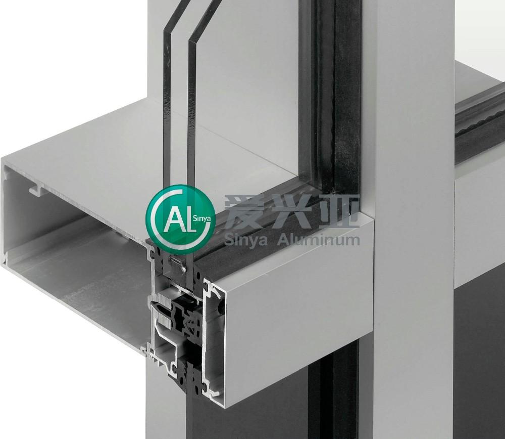 Aluminum Glass Wall : Aluminium side hung window extrusion de aluminio