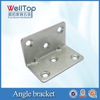 Table corner metal bracket