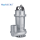 Big flow high pressure 3 phase 1hp 2hp centrifugal submersible water pump