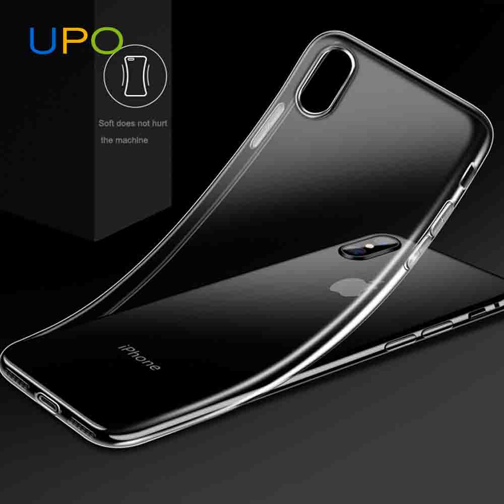 [UPO] most popular products china,slim Ultra Thin tpu clear back cases for iphone x 10 8 8 plus